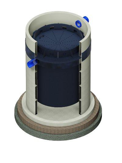 Комбинированный фильтрующий патрон зд белый